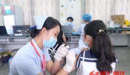 直擊現場!湖醫附一全力推進12-14歲兒童疫苗接種
